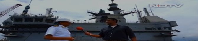 Watch: NDTV On Board India's First Indigenous Aircraft Carrier Vikrant