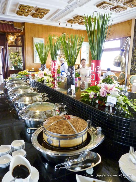 Desayuno Hotel Rex Saigon - Ho Chi Minh City, Vietnam por El Guisante Verde Project