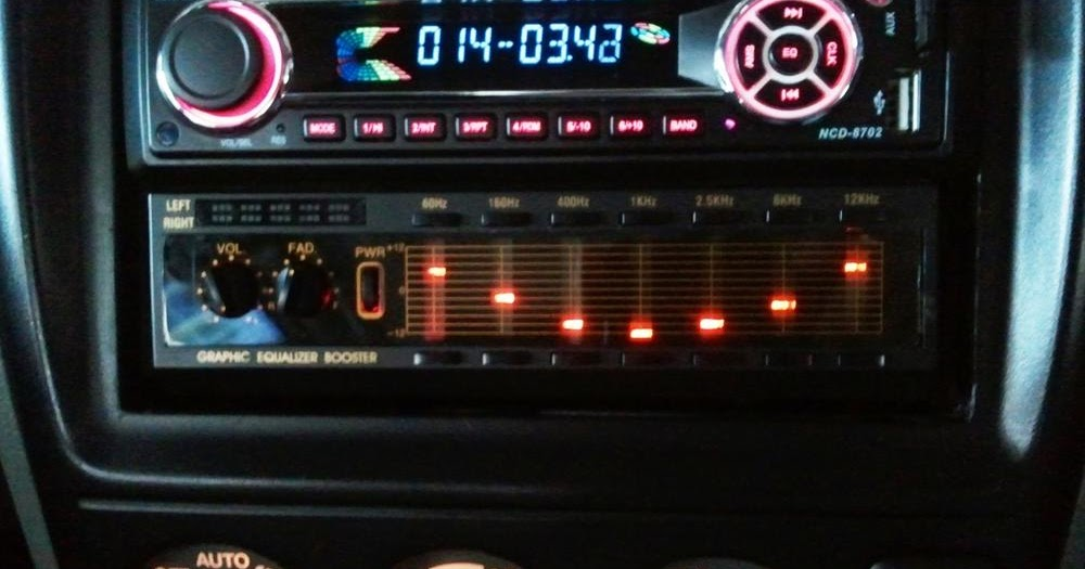 Car Audio Equalizer: Best Equalizer Settings For Car Audio