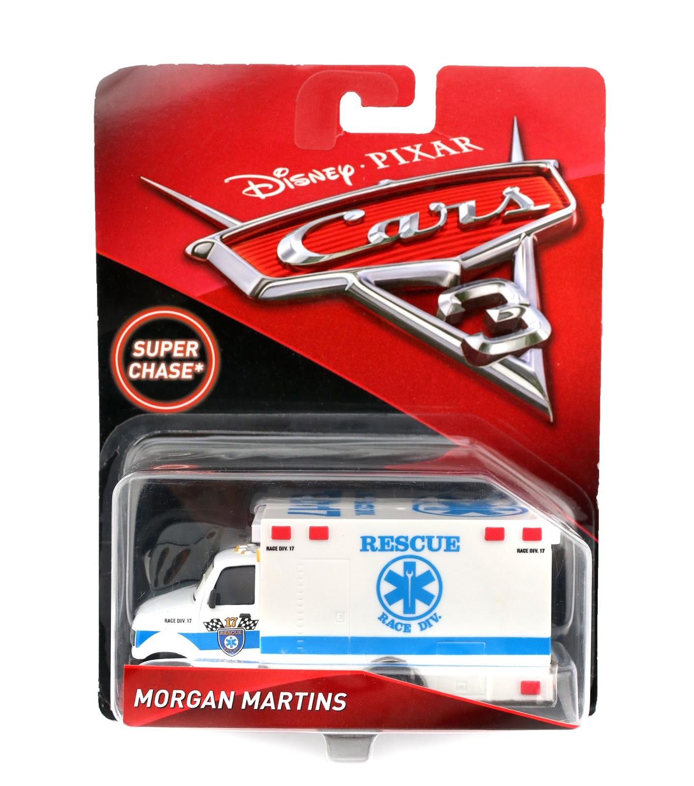 pixar cars 3 morgan martins diecast