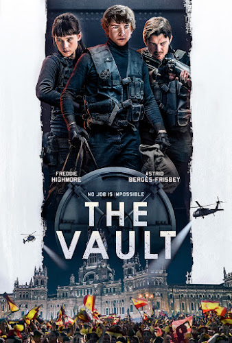 The Vault (Web-DL 720p Ingles Subtitulado) (2021)