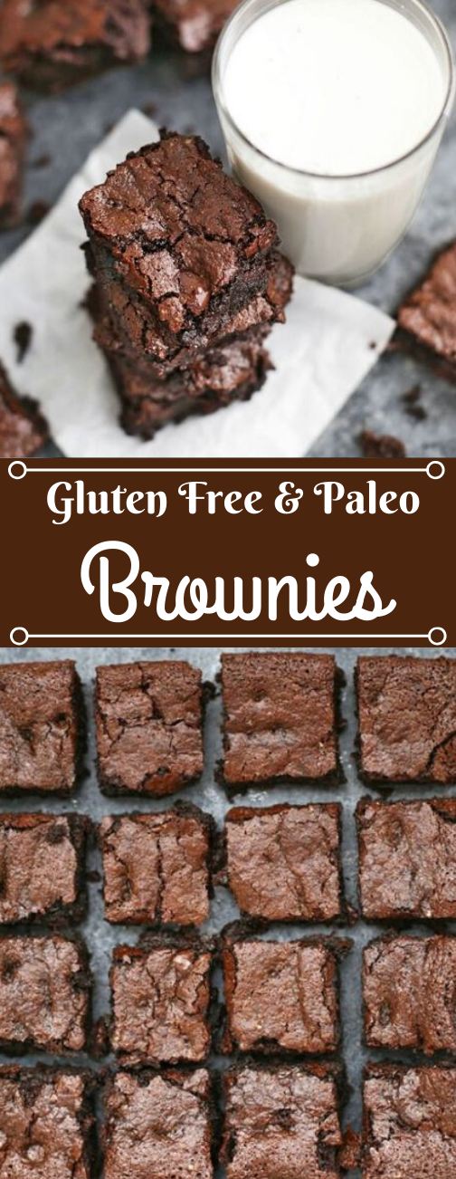 THE PERFECT GLUTEN FREE BROWNIES #brownies #desserts #keto #paleo #whole30