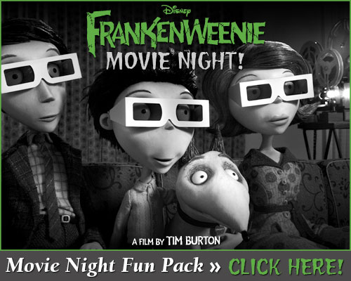 Disney Sisters Frankenweenie Tim Burton S Latest Electrifying Film On Dvd