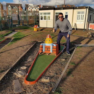 MiniLinks Crazy Golf course in Lytham St Annes