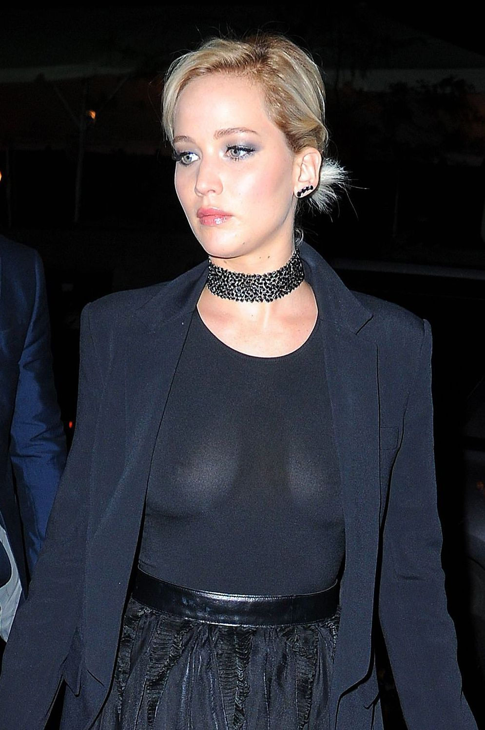 Jennifer Lawrence See Through Boobs