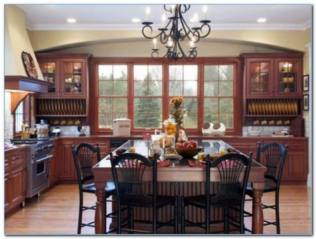 Country Kitchen Color Ideas Home