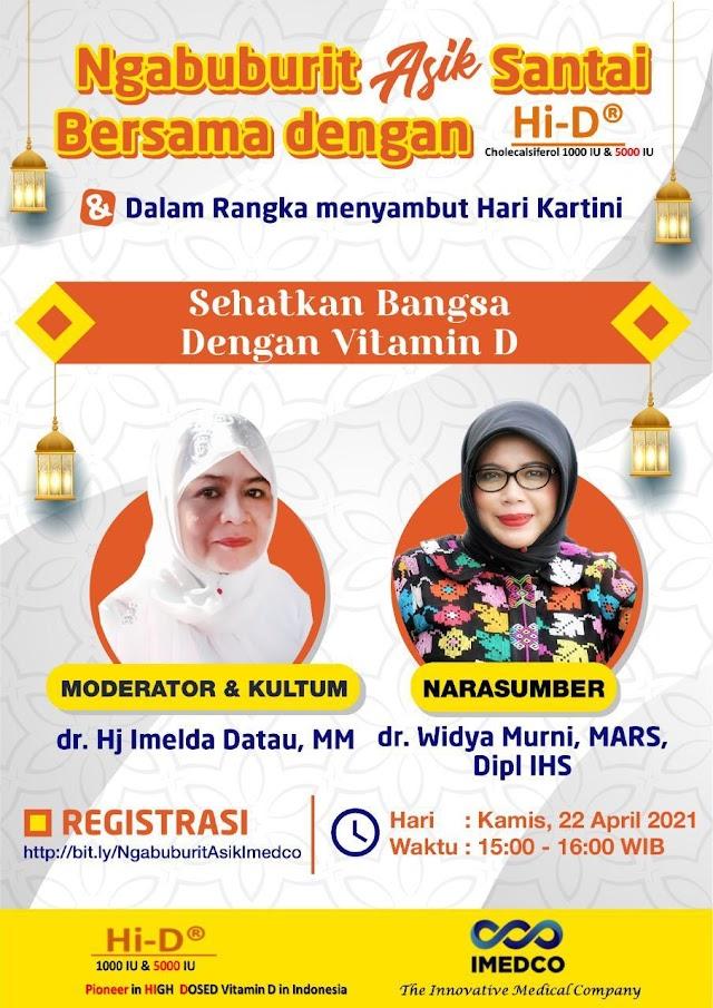 Free Webinar SEHATKAN BANGSA DENGAN VITAMIN D