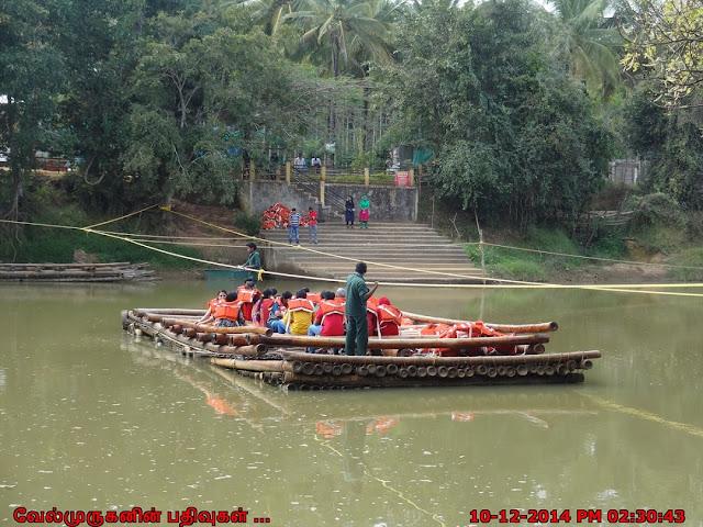 Kuruva Island Bamboo Rafting