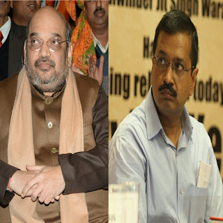 Two big meetings of Amit Shah on Corona in Delhi today, brainstorm with Kejriwal and LG Baijal