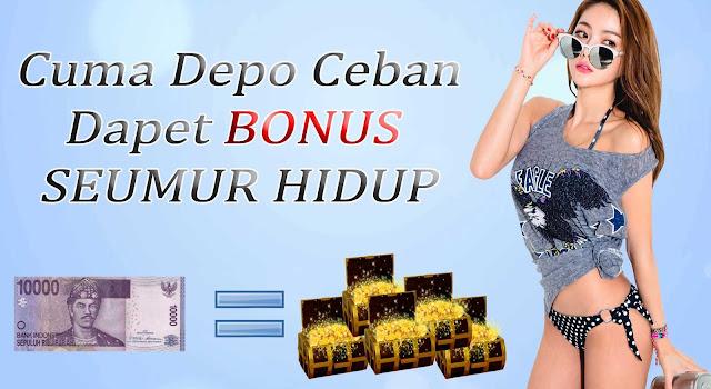 Daftar Agen Judi Togel Deposit 10rb, Dapat Bonus 10% Setiap Kali Deposit