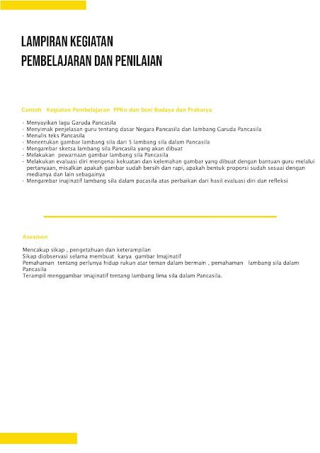 RPP 1 Lembar SD Kelas 2 Tahun Ajaran 2020-2021