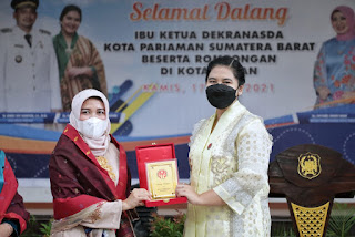 Sharing Teknik Kembangkan UMKM, Dekranasda Pariaman Kunjungi Kota Medan