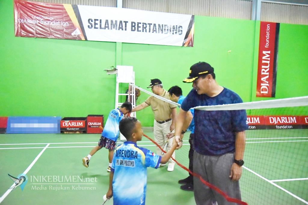 582 Pebulutangkis Jateng dan DIY Ikuti Kejuaraan Bulutangkis Bina Pratama Dandim Cup III 2019