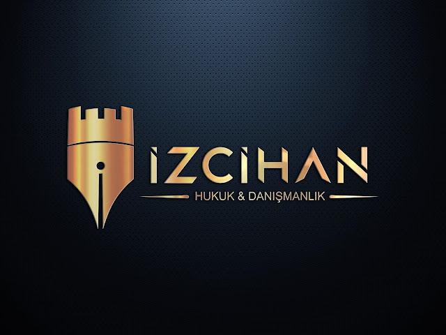 Avukatlık Hukuk Danışmanlık Bürosu Logo Tasarımı gold