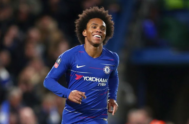 Willian Ask for a New Contract to Chelsea