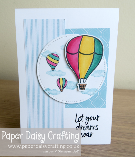 Above the Cards handmade cards Paper Daisy Crafting Stampin Up