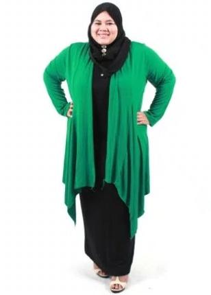 10 Inspirasi Trend Baju Muslim Terkini Untuk Wanita Gemuk