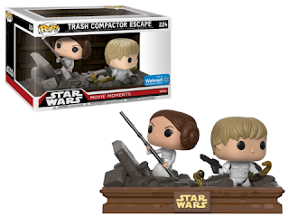 Pop! Star Wars: Movie Moments - Luke & Leia.