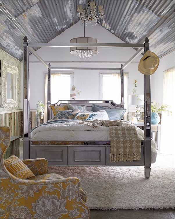 canopy bedroom sets home