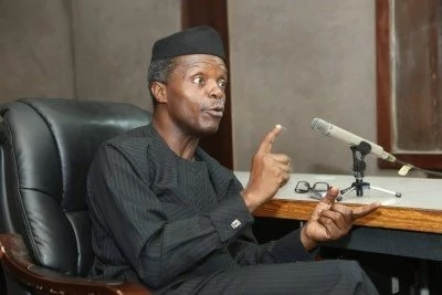 Good news: Osinbajo names those who can bail Nigeria out of recession