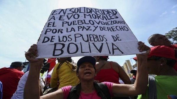 Presidente Nicolás Maduro denuncia masacre en Bolivia y llama a derrotar el fascismo