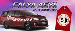 booking fee toyota calya