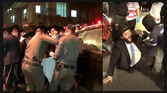 Για όσους νομίζουν ότι στο  Ισραήλ ειναι  γνήσιοι  Ιουδαίοι όλοι: Συγκρούσεις μεταξύ διαδηλωτών & αστυνομικών