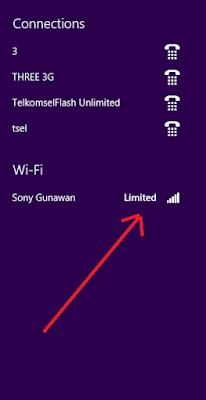 mengatasi wifi limited acess