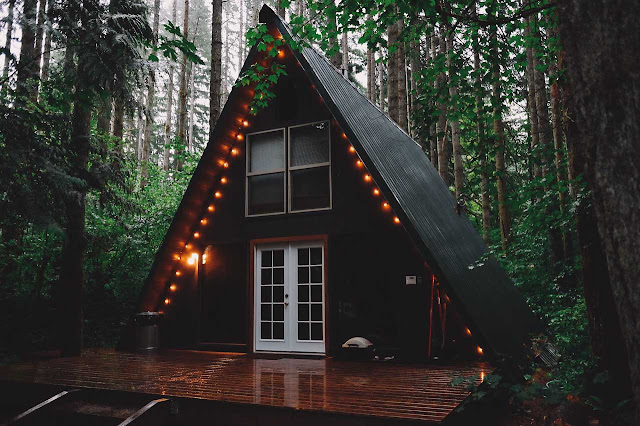 Cabaña de camping