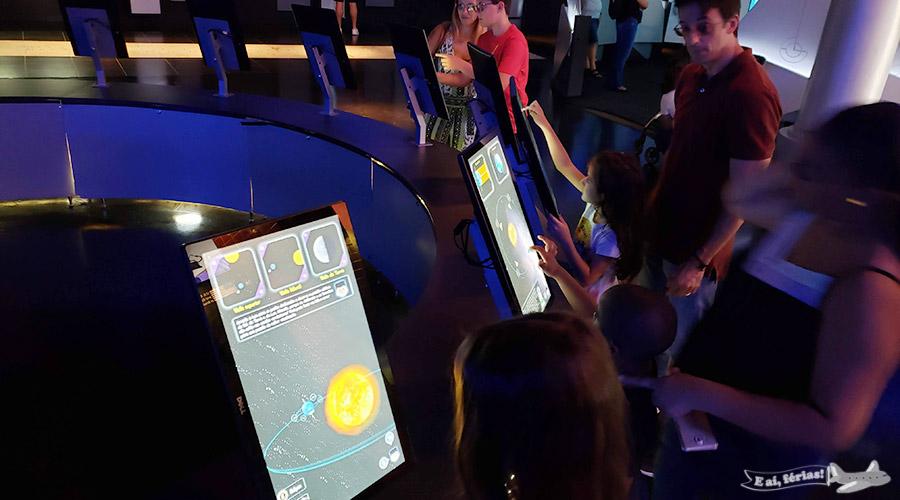 Exposição Fixa - Planetário da Gávea