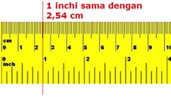 Dalam pembahasan kali ini admin akan memperlihatkan dan menterangkan wacana balasan  1 Inch Berapa cm? Berikut Jawaban Sekompleksnya