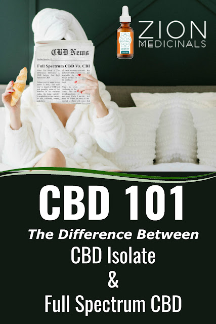 The Difference Between A CBD Isolate And Full Spectrum CBD By Barbies Beauty Bits