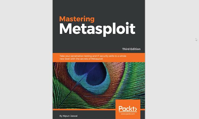 [Chia sẻ] Ebook Mastering Metasploit 3rd cực hay trị giá 45 USD