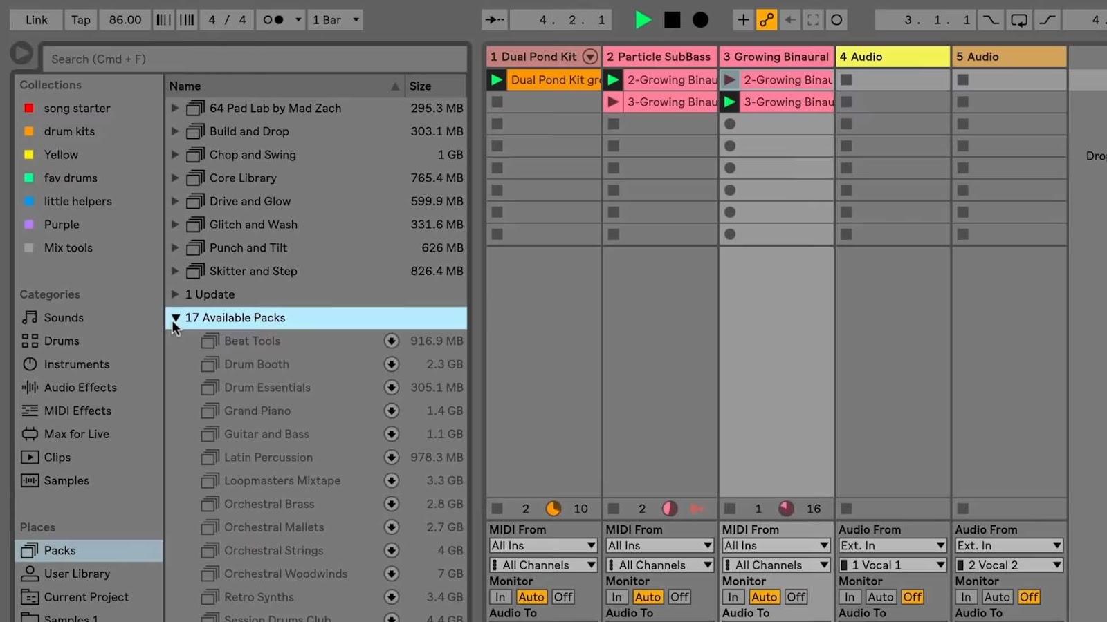 Ableton Live Suite 10.1.14