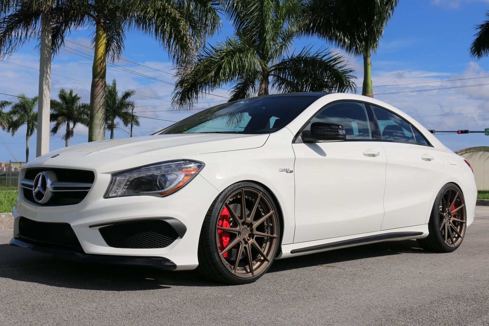 2014 mercedes benz cla45 amg on adv1 m v2 sl wheels. Black Bedroom Furniture Sets. Home Design Ideas