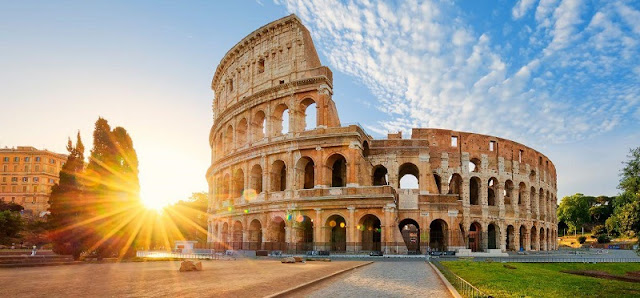 Coliseu em Roma na Itália