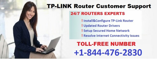 Internet speed is slow in TP-LINKS router? Call 1-844-476-2830 our