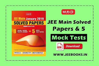 [PDF] MTG JEE Main Solved Papers and 5 Mock Tests Download