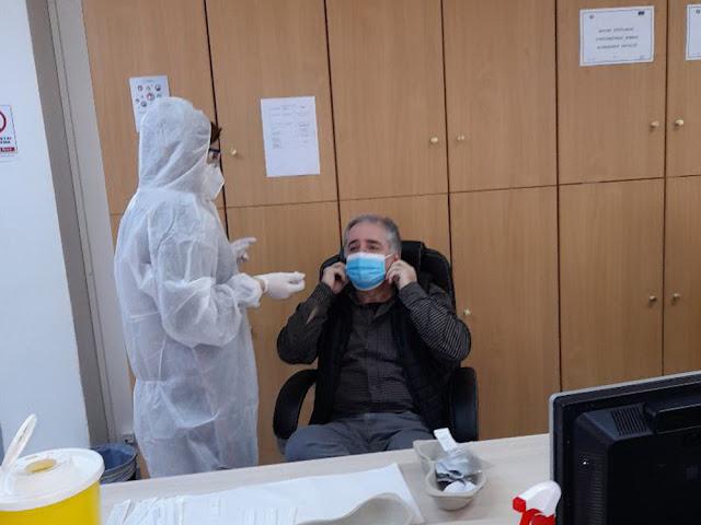 Αρνητικά 67 rapid test σε υπαλλήλους στην Περιφέρεια Πελοποννήσου