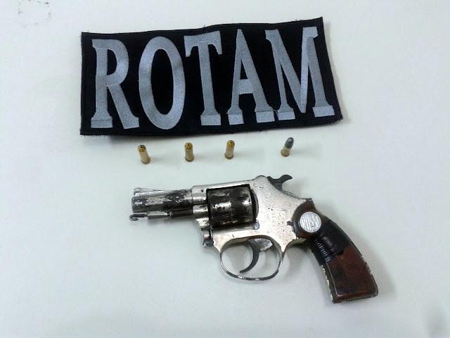 Guardas prendem homem em Estância por porte ilegal de arma de fogo