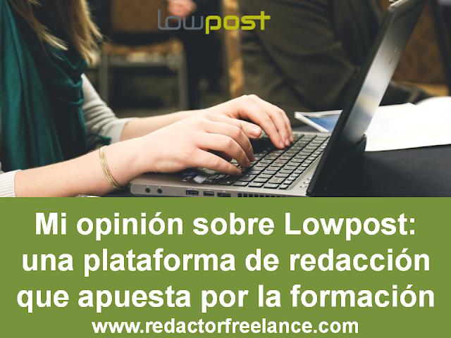 Imagen articulo opinion sobre Lowpost plataforma de redacción