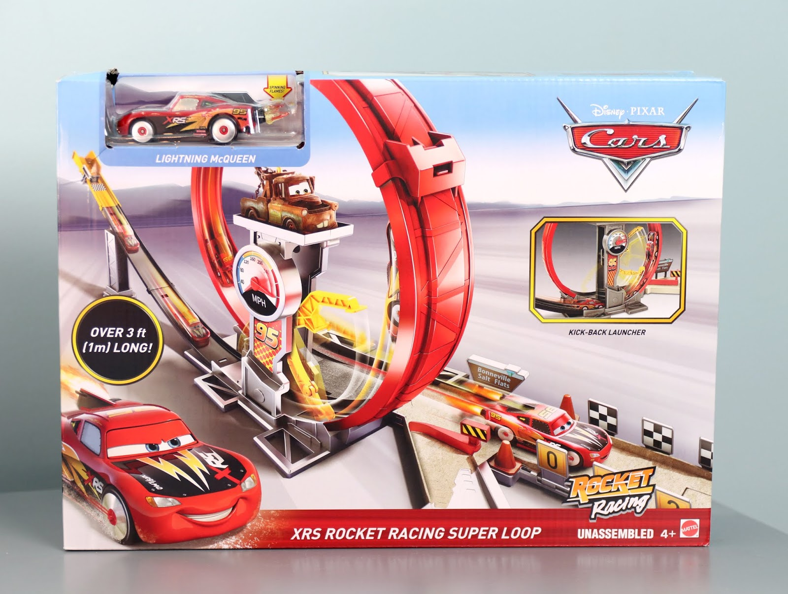Cars XRS Rocket Racing Super Loop