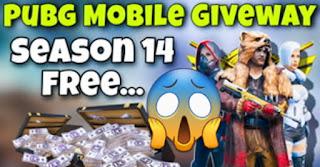 PUBG Mobile Royale Pass Season 14 for free