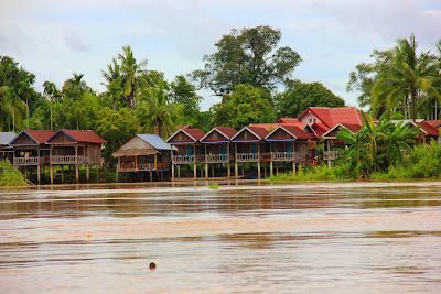 4000 Bungalow islands (Laos)