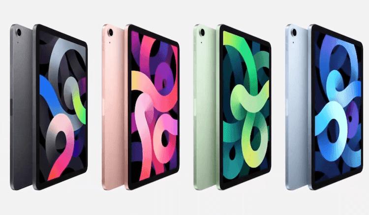 Apple Unveiled iPad Air 4 And iPad 8
