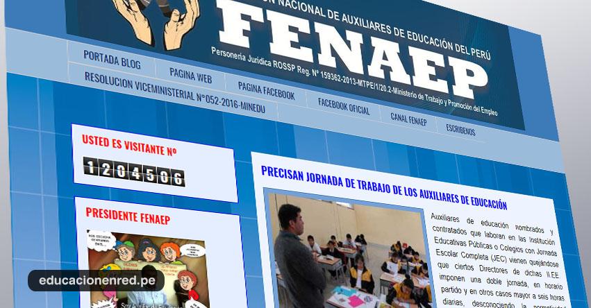 MINEDU precisa jornada de trabajo de los Auxiliares de Educación - www.minedu.gob.pe