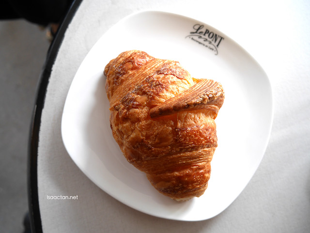 My favourite, simple yet delicious signature croissants from Le Pont Boulangerie