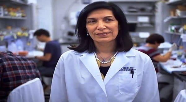 مؤسس فيس بوك يمنح الباحثة اللبنانبة هدى زغبى اوسكار العلوم
