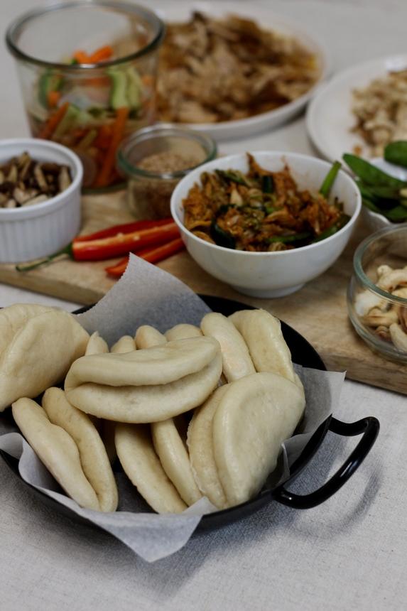 бао бънс рецепта, азиатски хлебчета на пара, бао бънс, рецепта за бао бънс, рецепта бао бънс, хлебчета на пара