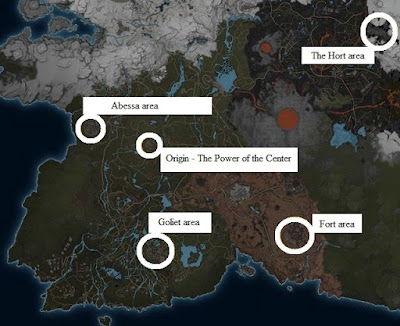 Elex, Trainers Locations Map, Origin, Abessa, The Hort, Fort, Goliet